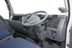 Truck cabin interior Royalty Free Stock Images