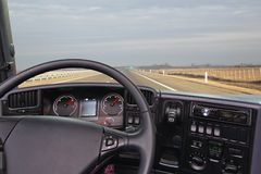 From truck cabin Stock Images