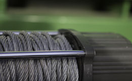 Truck Cable Winch Royalty Free Stock Photo