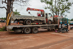 Truck cambodia Stock Images