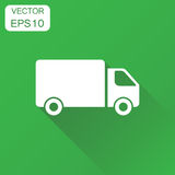 Truck, car icon. Business concept fast delivery service shipping Stock Images