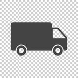 Truck, car vector illustration. Fast delivery service shipping i Royalty Free Stock Photos