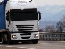 Truck Cargo semitrailer Stock Images