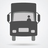 Truck cargo web icon Stock Images