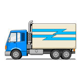 Truck cartoon vector illustration Royalty Free Stock Images
