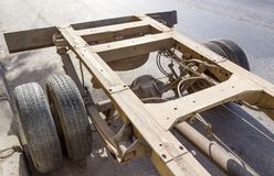 Truck chassis Stock Images