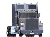 Truck chrome. Métal chrome Truck 3D white background Stock Photography