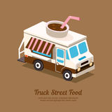 Truck coffee Royalty Free Stock Photos