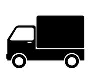 Truck with commodities vector Stock Photos