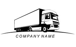 Truck Company Name Royalty Free Stock Photos