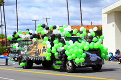 Truck Covered With Balloons Royalty Free Stock Photo