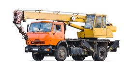 Truck Crane Stock Photography