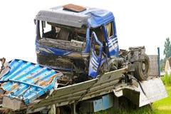 Truck crash 2 Stock Image