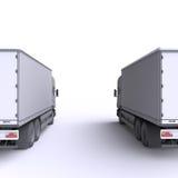 Truck. 3d illustration. Stock Images