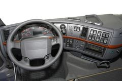 Truck dashboard Stock Image
