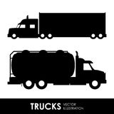 Truck deign Stock Photography