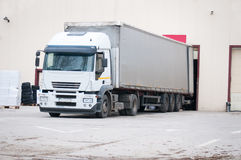 Truck delivery Royalty Free Stock Photography
