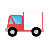 Truck delivery service icon Royalty Free Stock Photography