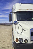 Truck in the desert Stock Image