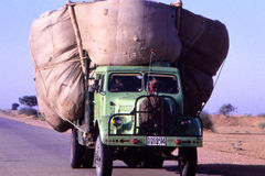 Truck, Desert, Rajasthan, India Stock Images