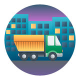 Truck Detailed Illustration Stock Photo