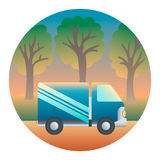 Truck Detailed Illustration Royalty Free Stock Image