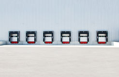 Truck docks truck docking station Royalty Free Stock Image