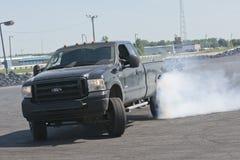 Truck drift Stock Image