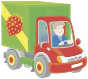 Truck driver Royalty Free Stock Photo