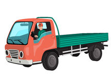 Truck with driver. Stock Photography
