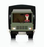 Truck Driver Stock Images