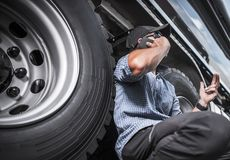 Truck Driving Business royalty free stock photos