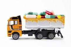 Truck with drugs Stock Photo