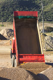 Truck with empty tipper Royalty Free Stock Photography