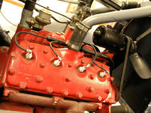 Truck Engine Stock Photos