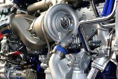Truck engine Stock Photos
