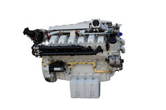 Truck engine Stock Images