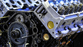 Truck Engine Stock Photography