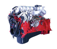 Truck engine royalty free stock photography