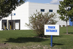 Truck entrance Stock Photography