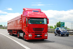 Truck, Europe Stock Photography