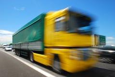 Truck, Europe Stock Photo