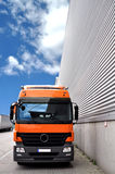 Truck and factory Stock Image