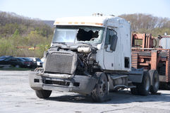 The truck after failure Stock Images