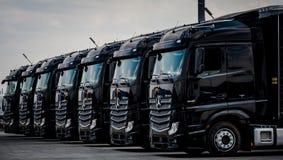 Free Truck Fleet Mercedes-Benz Actros 1845 Euro 6 Stock Image - 106689571
