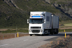 Truck freight Stock Photography