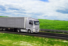 Truck with freight Royalty Free Stock Images