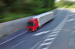 Truck freight Royalty Free Stock Photos