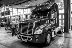 Truck Freightliner Cascadia Evolution, 2015. Royalty Free Stock Photography