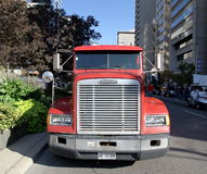 Truck Front Grille Stock Photo